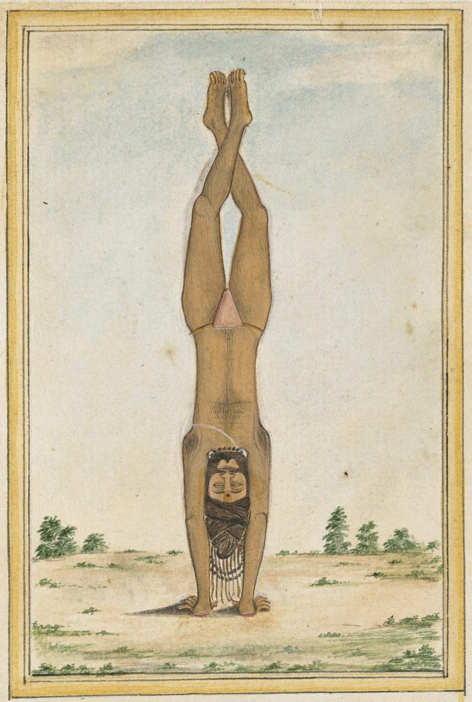 handstand painting india