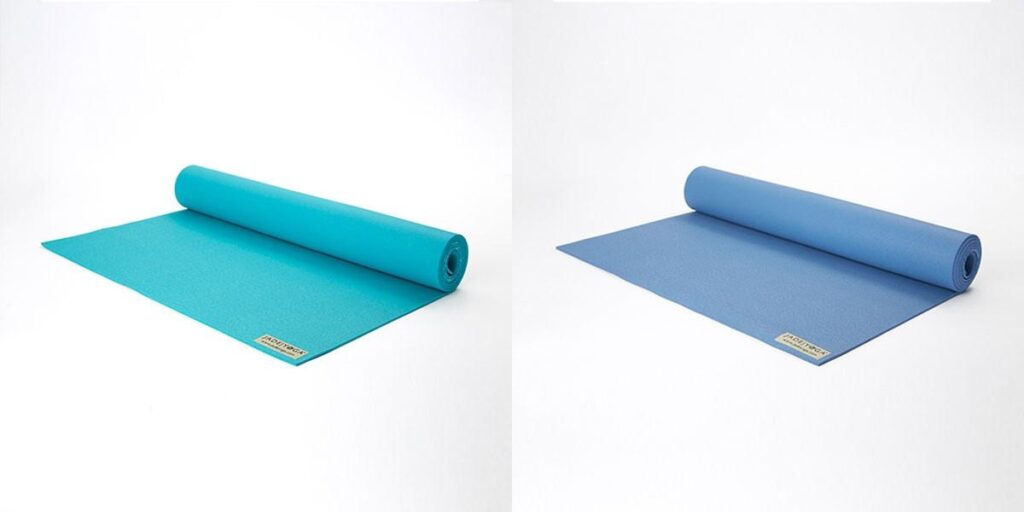 two colors of the jade harmony mat