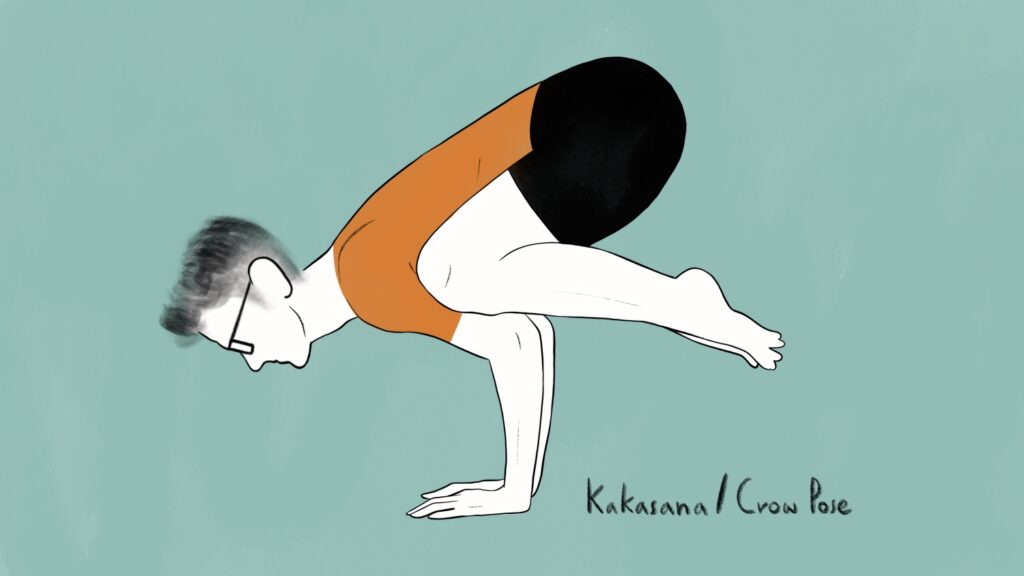kakasana benefits featured image